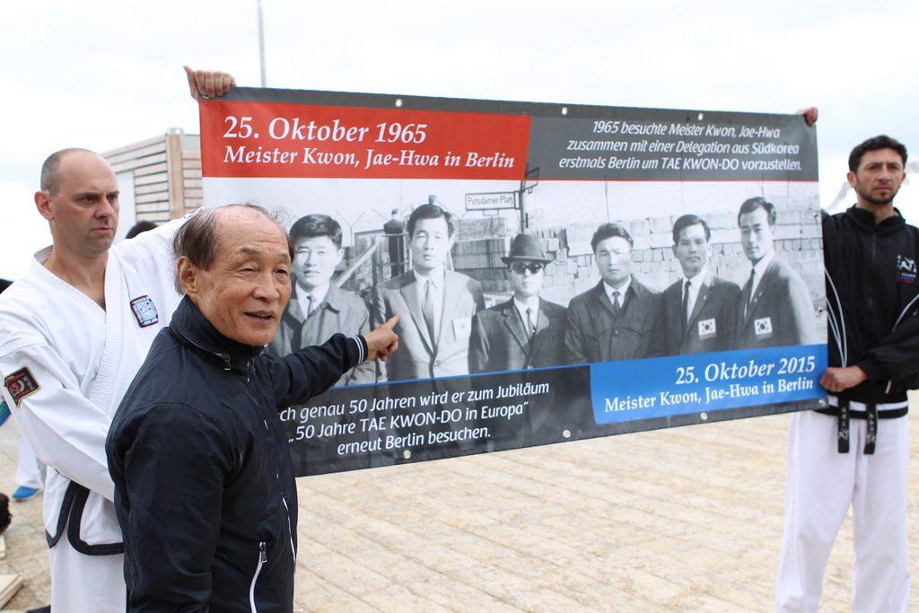 50 Jahre Kwon, Jae-Hwa Taekwon-Do in Europa, Zugspitze Summit Challenge am 27. 06. 2014